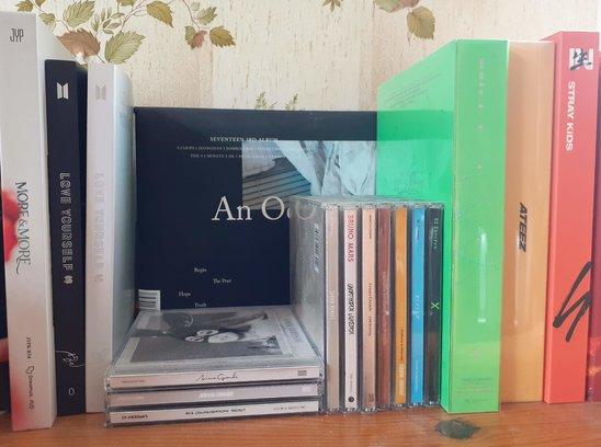 Albums de Kpop (Crédit photo : Nourmam)