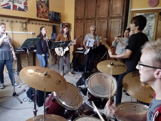 Le groupe du mercredi (Crédit photo : Mylène Landier)