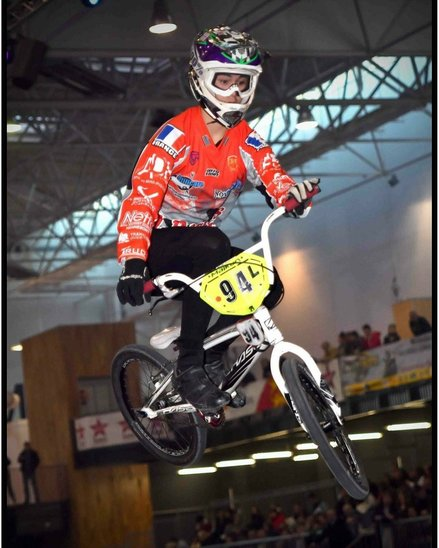 Kainui à l'indoor de Caen en ANNEE (Crédit photo : bmx2day)