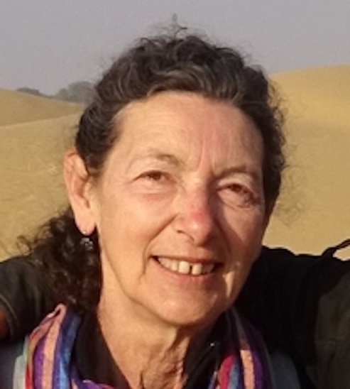 Sylvie Poizat, bénévole au Mrap. (Crédit photo : SP)