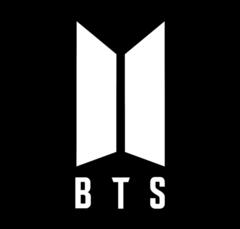 Logo officiel du groupe BTS (Crédit photo : Wikipédia)