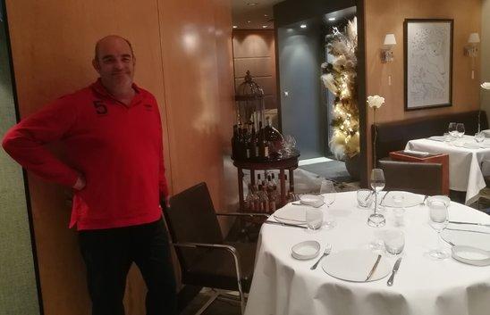 Jean-Luc Tartarin dans son restaurant (Crédit photo : Edouard Bachelier)