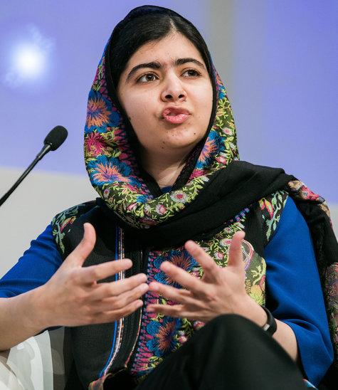 Malala Yousafzai, militante pakistanaise des droits de la femme au World Economic Forum. (Crédit photo : World Economic Forum, 2018, flickr.com)