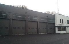 La caserne de pompier de Brasparts (Crédit photo : Lycée P. Sérusier)