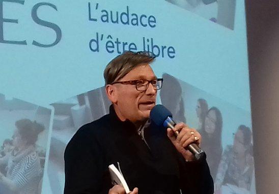 Laurent Gay témoigne devant  les secondes. (Crédit photo : .)