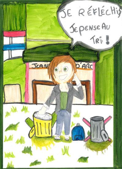 Plus que du recyclage (Crédit photo : Prune Jeanne)