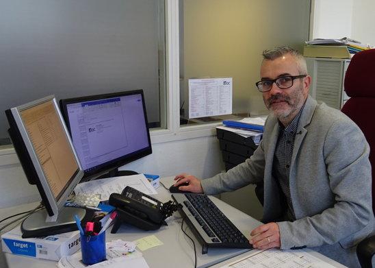 Guillaume Renaud, référent MIJEC. (Crédit photo : Salomé Macquin)