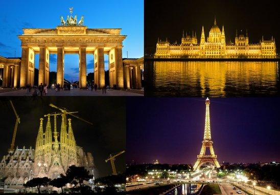 L'Europe, son identité, sa diversité, sa solidarité et sa beauté. (Crédit photo : montage AG)