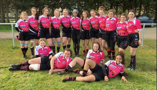 L'équipe féminine de Cornouailles 1. (Crédit photo : RCC)