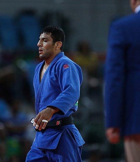 Saeid Mollaei, aux Jeux Olympiques de 2016. (Crédit photo : Mehdi Zare)